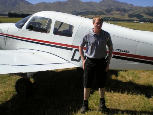 Piper Cherokee in Hanmer Springs